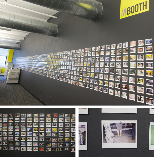 M Booth's Photo Wall
