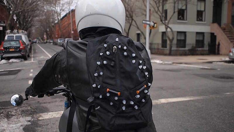 Brake Light Backpack