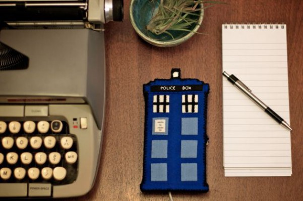 See the post:  Project: TARDIS Phone Charging Station