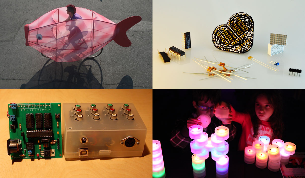 Fishbikes, Heart Matrix, Tangeez, and the Bricolo Mechanical Music System
