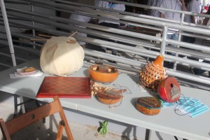 Instruments made by MakeShop Miami members