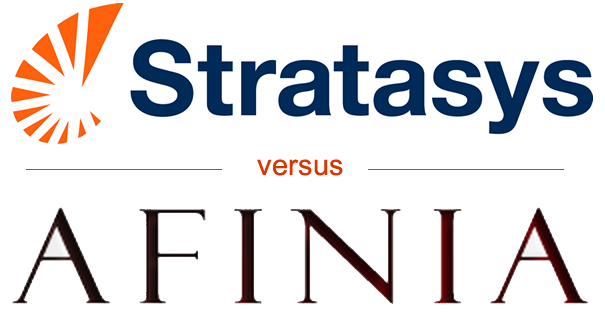 Afinia Responds to Stratasys II: You Failed To Disclose Old Patents, Printers