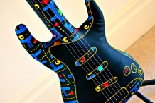 Vox & Dolly's Pac-Man Electric Guitar Pillow