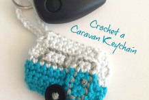 Crochet A Caravan For Your Keychain