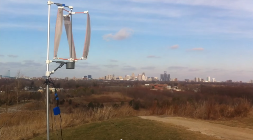 Helping Those In Need With A Portable 3D Printed Wind Turbine
