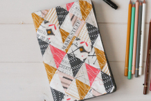 How-To: Quilted Sketchbook Cover