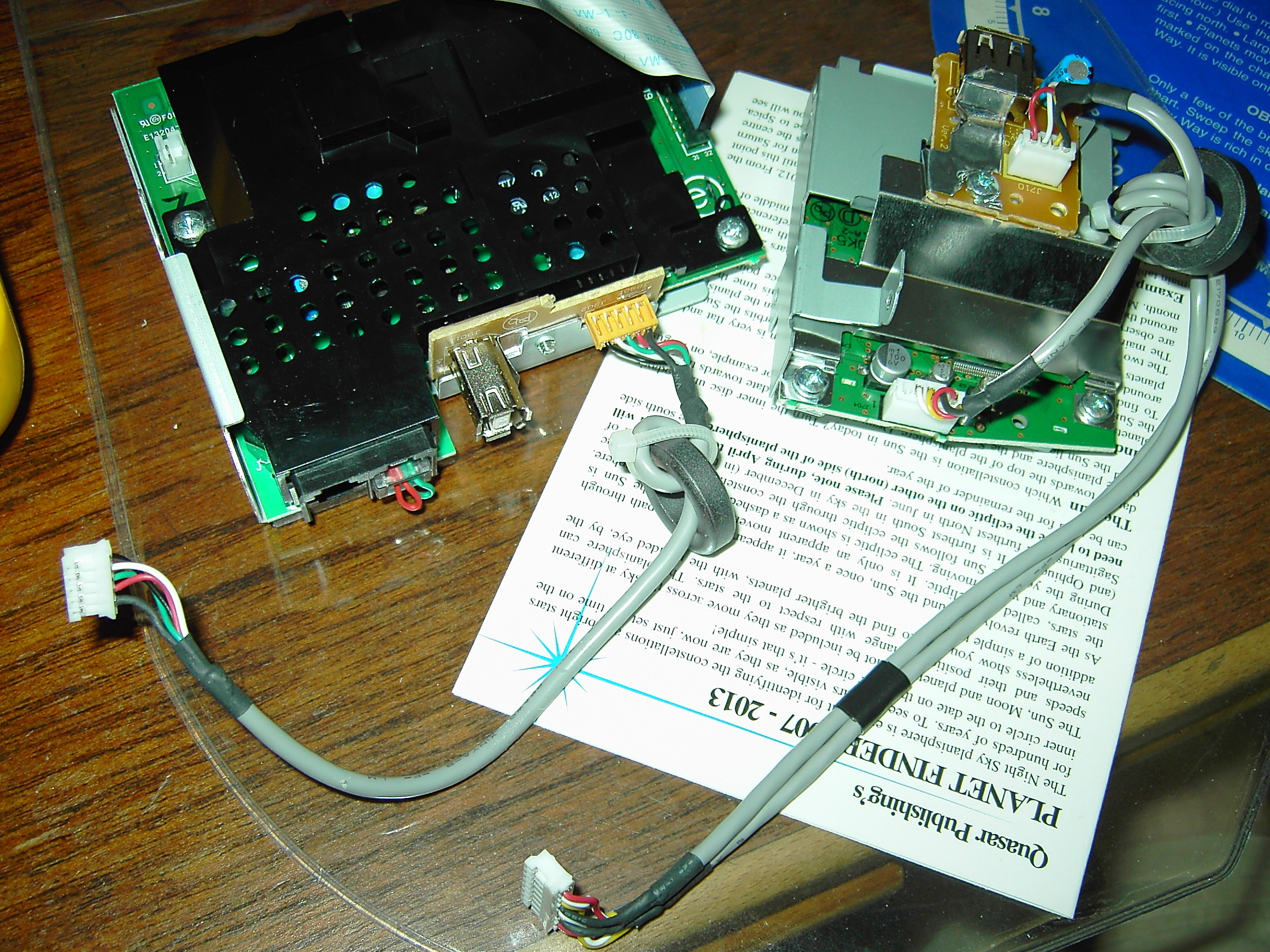 USB Card Reader from a Dumped USB Printer