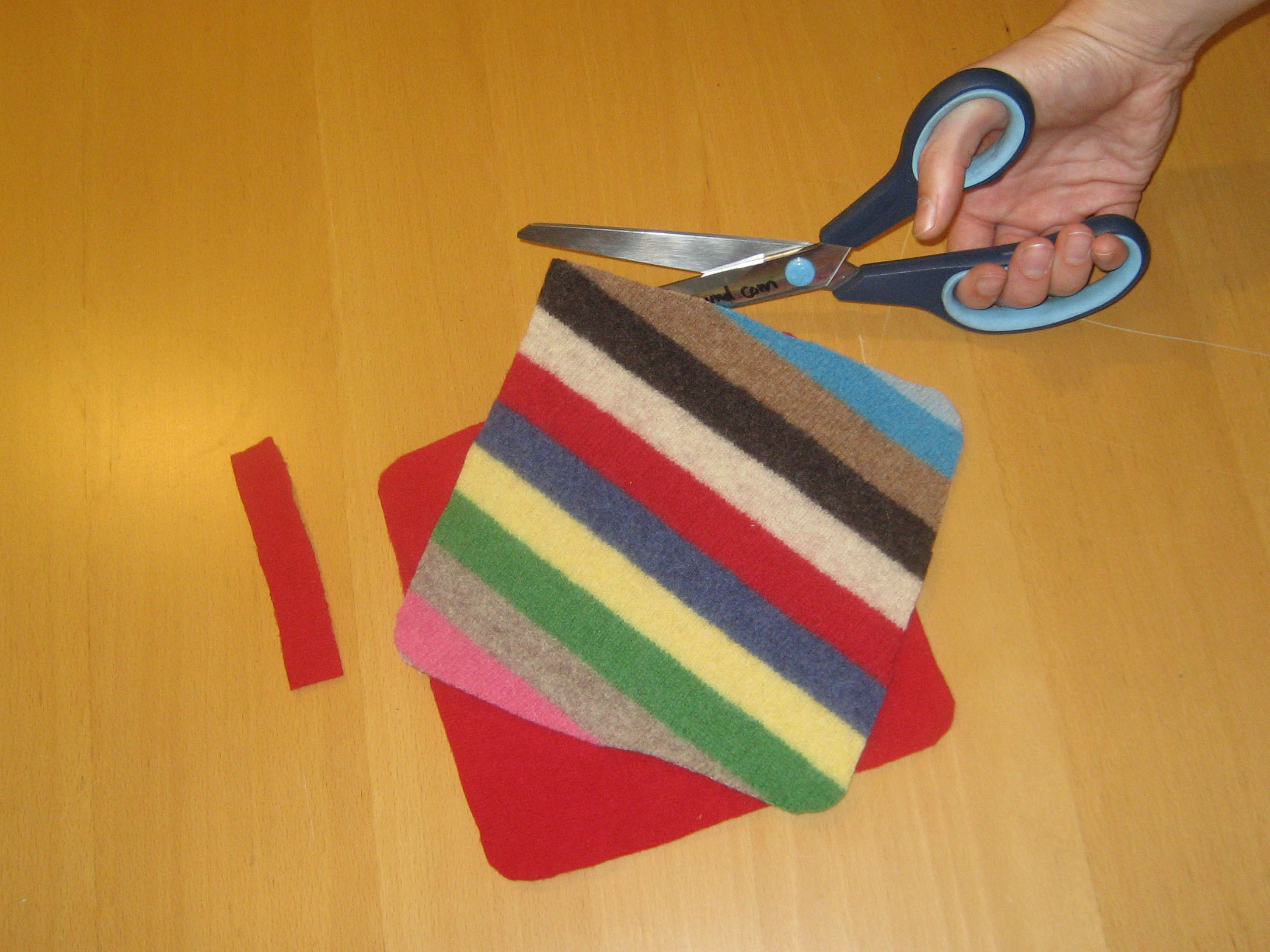 Felted Sweater Potholder