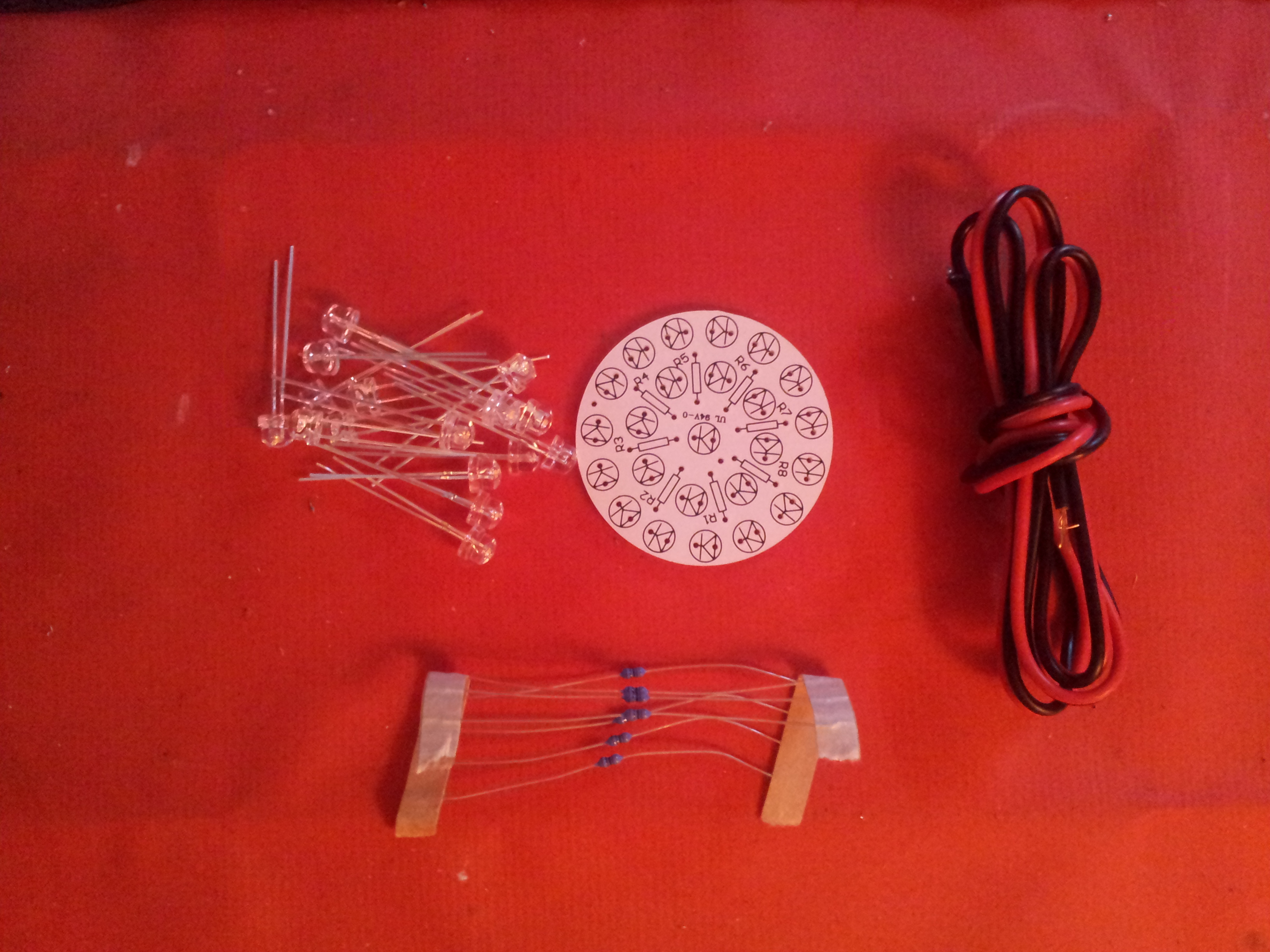 LED Lamp Kit with 24 x 5mm LED's