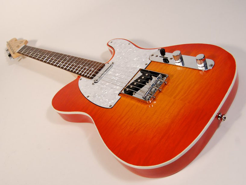 Easy Sunburst Guitar