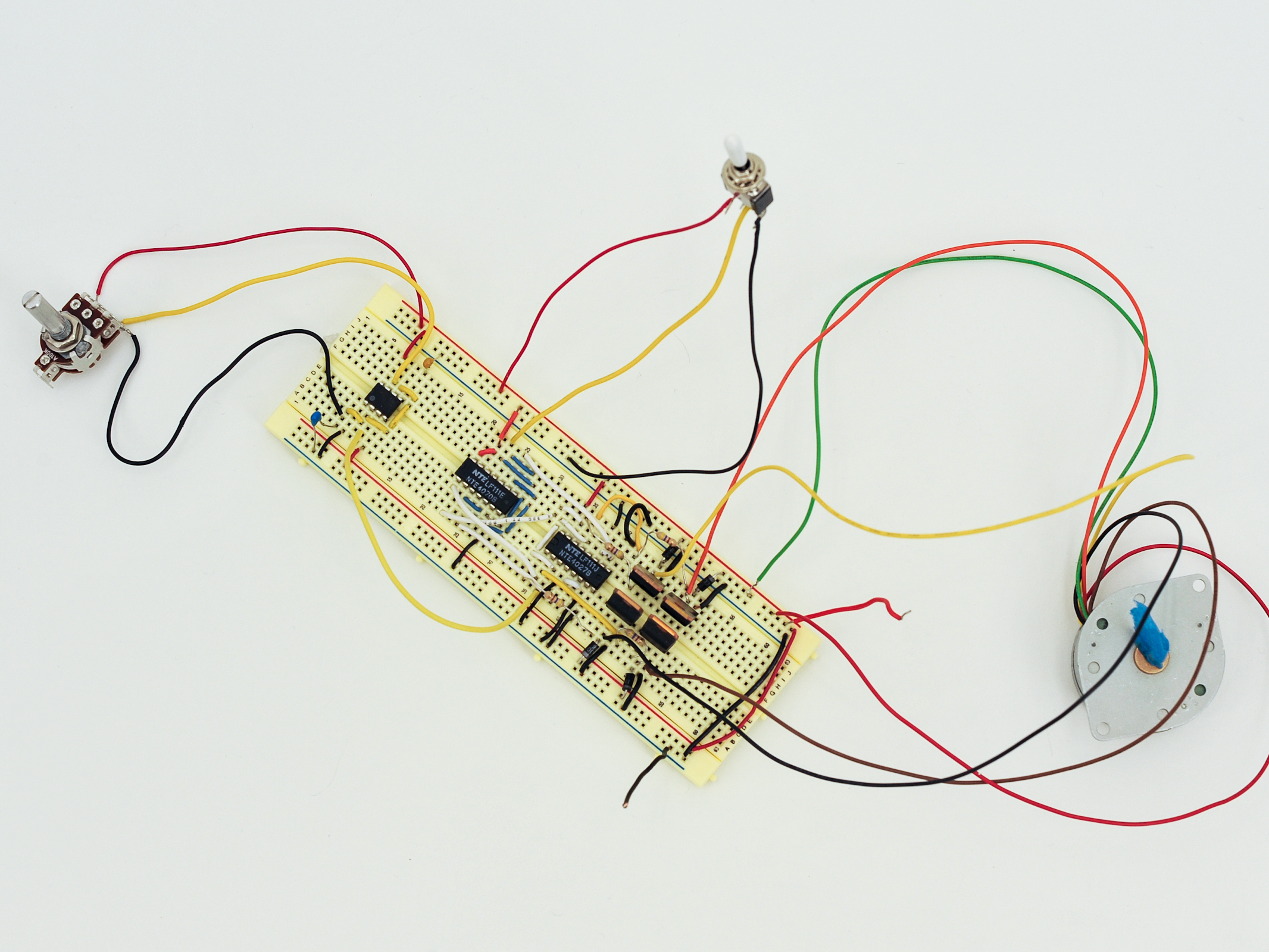 Projects in Motion: Control Three Types of Motors with 555Timers