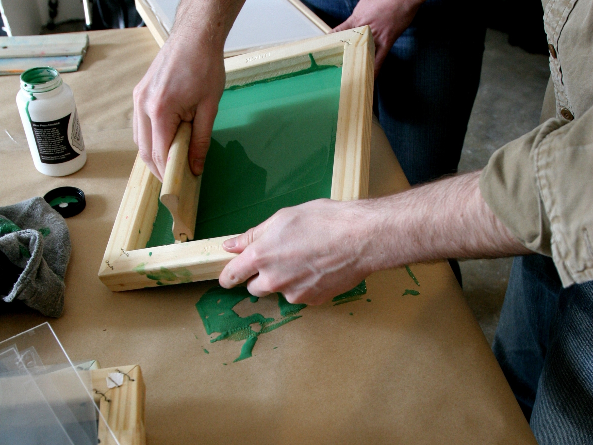 Learn the Screen Printing with Silk-Screening 101