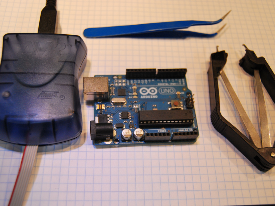 Replace and re flash a blown arduino make