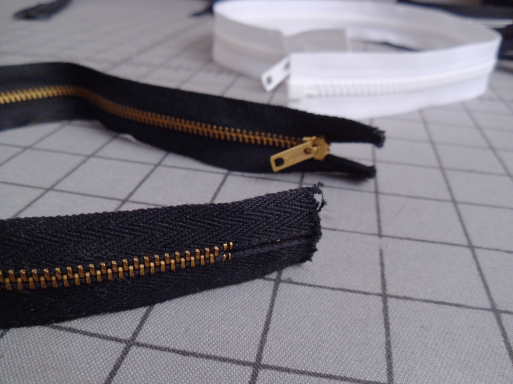 Zipper Repair for a Coat or Jacket