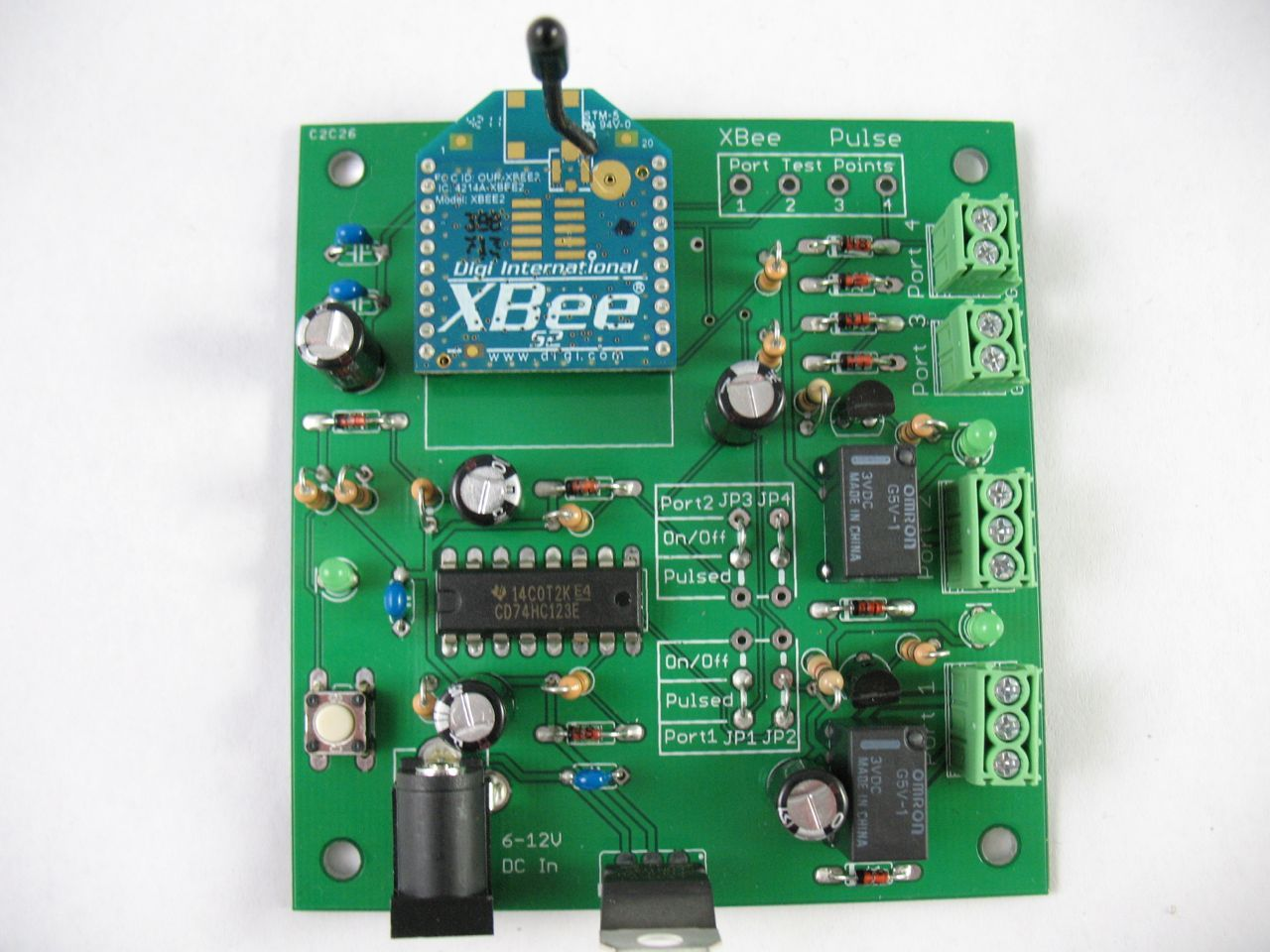 XBee Pulse I/O PCB Assembly Instructions