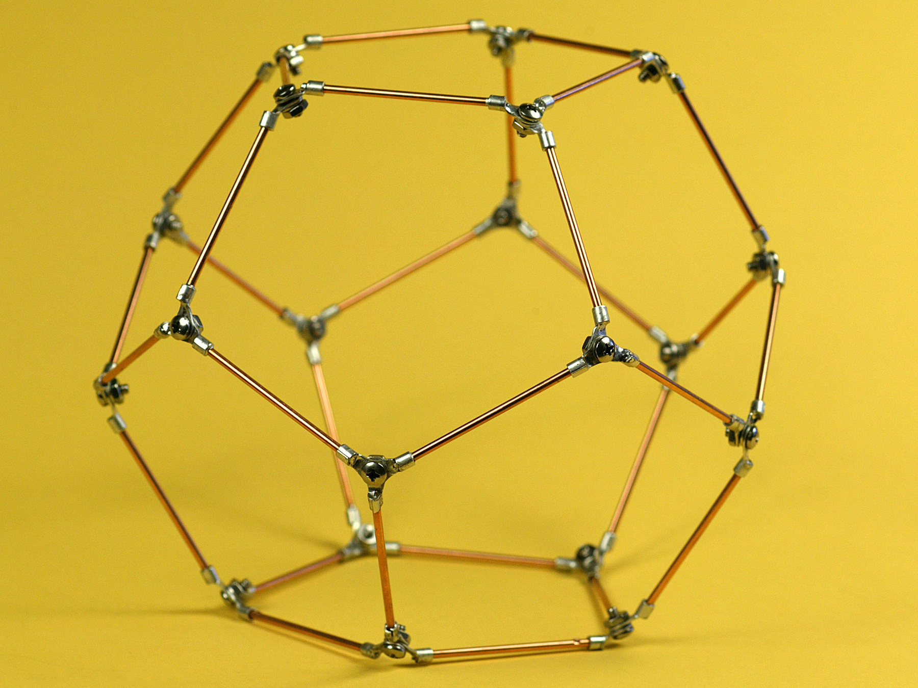 how to make a dodecahhedron project