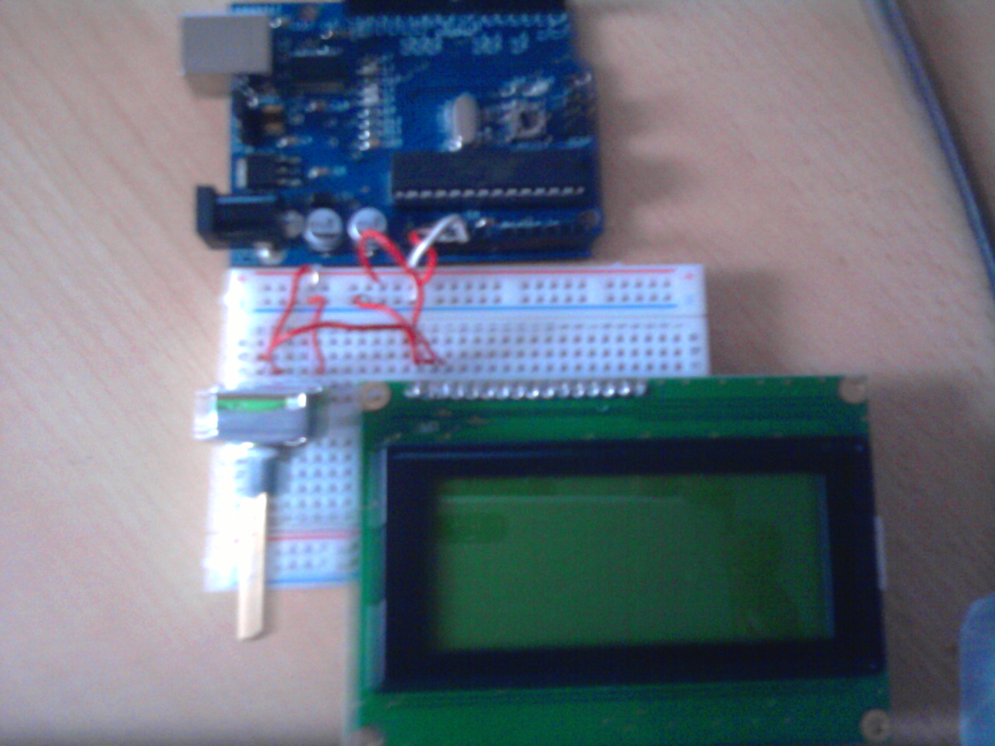 Arduino LCD Birthday Card